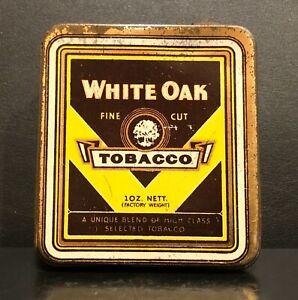 WHITE OAK FINE CUT TOBACCO 1oz. TIN - Michelides, Perth