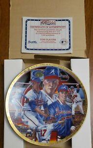 "Sports Impressions Collector's 8 1/2"" Plate Tom Glavine Basetball w/COA 1163-03"