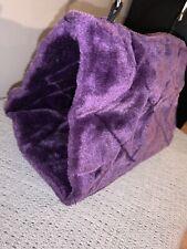 New listing Purple Plush Hanging Cat Bed