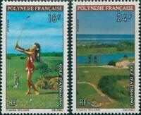 French Polynesia 1974 Sc#275-276,SG177-178 Golf Course set MNH