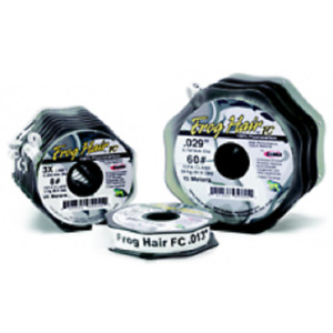 Frogs Hair Fluorocarbon Fly Fishing Tippet Leader 100/25m Spools 1st S/F Post