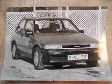 Foto Fotografie photo photograph TOYOTA Corolla GT 16 V 01/85 SR517