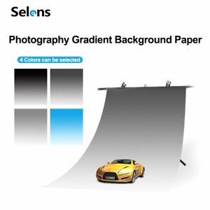 Selens Studio Gradient Background Backdrop for Still Life Photo Shooting 50*82cm