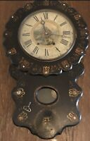 Vintage Antique  Beautiful Wall Clock