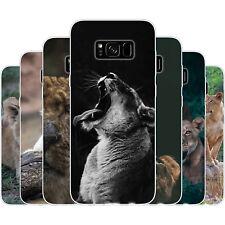 dessana Löwin TPU Silikon Schutz Hülle Case Handy Cover Tasche für Samsung