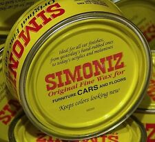 ONE CAN Simoniz Original Paste Car Wax Can 7oz. (198g) with Genuine Carnauba Wax