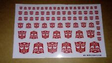 Transformers Autobot Insignia x 66 (white background)
