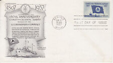 POSTAL HISTORY - FIRST DAY COVER FDC 1957 COAST & GEODETIC SURVEY DAY LOWRY CACH
