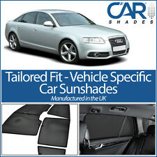 AUDI A6 4dr 2004-2011 UV CAR SHADES WINDOW SUN BLINDS PRIVACY GLASS TINT BLACK