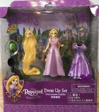 NEW Disney Princess Rapunzel Magic Clip Magiclip Dress Polly Pocket Doll Set