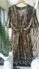 Multi-Colored 100% Silk Dresses for Women