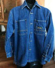 MENS PACO JEANS DENIM BLUE JEAN JACKET SIZE SMALL NICE!