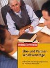 Ehe- und Partnerschaftsverträge: Individuelle Ge... | Book | condition very good