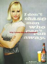 """Bud Light Beer """"Dont Chase Men"""" 1999 Magazine  #492"""