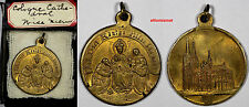 GERMANY Gilt Bronze Medal 1880 Completion Of Cologne Cathedral High Grade SCARCE