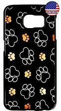 Paws Paw Dog Cat Cute Case Cover For Samsung Galaxy S4 S5 S6 S7 Edge Note 4 5 7