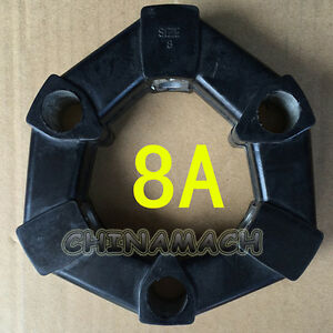 New Hydraulic Rubber Coupling 8A for Komatsu PC20 PC30 PC38 Excavator