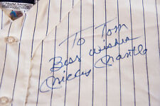 MICKEY MANTLE Signed Autographed NIGHTSHIRT WORN BY MANTLE JSA TOM CATAL