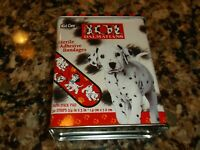 Vintage Disney 101 Dalmatians 30 Adhesive Bandages Band Aid Collectible Tin NEW