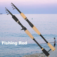 Flexible Seapole Telescopic Spinning Fishing Rod Fishing Pole 1.8//2.1//2.4//3.6M K