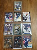 DAVE ANDREYCHUK LOT 1994-95 TOPPS FINEST-MINT PLUS 9 CARDS TORONTO MAPLE LEAFS