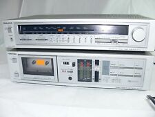 TOSHIBA STEREO INTEGRATED TUNER AMPLIFIER AMP 240W SA-R1L + PCG2T TAPE DECK