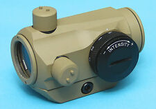 G&P Airsoft Micro Red Green Dot Sight (1X24) Scope Low Mount (Sand) GP-SCP001