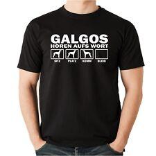 T-Shirt GALGO HÖREN AUFS WORT by Siviwonder Unisex