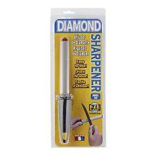 Eze-Lap DIAMOND BLADE SHARPENER 125mm 600 Grit Steel, Ergonomic Handle- USA Made