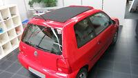 SCHIEBEDACH FALTDACH BEZUG VW POLO / LUPO / FOX 6N2 PVC SCHWARZ NEU