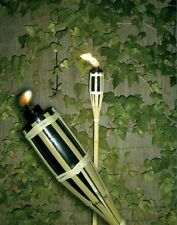 Torcia bamboo fiaccola fiaccole per giardino - cm. 100 H