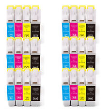 24 PK B C M Y Ink Cartridges fits Brother Series LC51 MFC 230C 240C 465CN 665CW