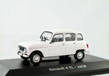Renault R4 TL  1974-1978  weiss    /    IXO/Hachette   1:43
