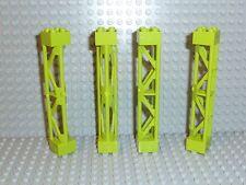 LEGO® City Stadt Baustellen Teil 4x Pfeiler 2x2 Stütze lime grün 58827 R1108