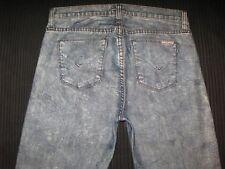 Hudson Womens Jeans Nico Midrise Super Skinny Acid Wash Sz 28