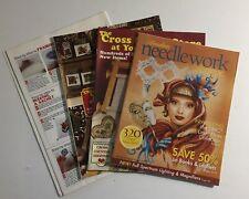 3 Cross Stitch Magazines + Stitch Patterns