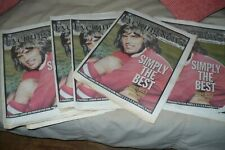 GEORGE BEST RIP 1949-2005 .NEWSPAPER SAME DAY (EXTREMELY RARE) *****UNIQUE*****.