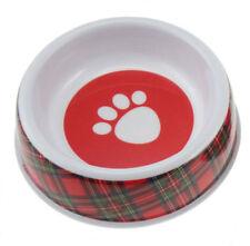 ROYAL STEWART SCOTTISH TARTAN DOG BOWL 100% HARD WEARING MELAMINE.