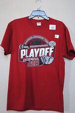 New size M University Alabama Crimson Tide 2015 T-shirt Cotton Bowl Football Men