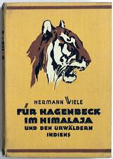 Hermann Wiele, Für Hagenbeck im Himalaya, 1925