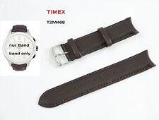 TIMEX Ersatzarmband T2M468 T-Series Chronograph 20mm Ersatzband Leder Uhrenband
