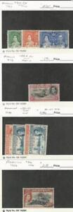 Ascension, Postage Stamp, #37-9, 42cd perf 14, 50-51, 66 Used, JFZ