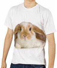 Niedliche Baby-Kaninchen Herren T-Shirt Tee Gr. S M L XL 2XL 3XL aao40426