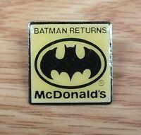 Vintage DC Comics Batman Returns McDonald's Collectible Pin / Lapel *READ*