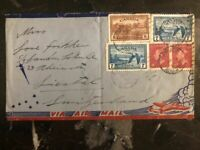 1950 Fairview Canada Airmail Cover To Switzerland