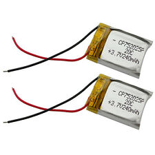 2 x 3.7V 240mAh 20C Lipo Battery For RC Quadcopter Helicopter Syma S107 S026 New