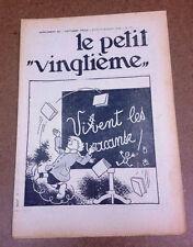 TINTIN / HERGE - LE PETIT VINGTIEME - SUPPLEMENT - N° 29 - 1934 (SUPERBE ETAT)