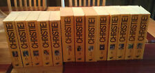 13 VOLUME AGATHA CHRISTIE FRENCH SET   ALL 77 BOOKS IN 13 VOLS.  VERY RARE SET