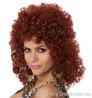 Red Kabuki Wig 15