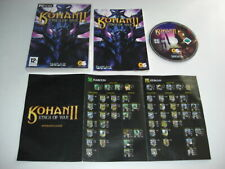 KOHAN II 2 - Kings Of War Pc Cd Rom Original release - FAST POST